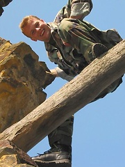 Czech soldier stripping, Added: 2011-09-19 by Czech Boys