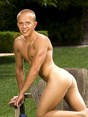Handsome twink outdoors, Added: 2011-09-19 by Colt Studio