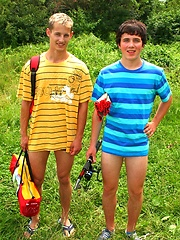 Twosome Boys gay camping adventures, Added: 2011-09-19 by AlexBoys