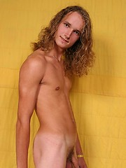 Long hair twink jacking off, Added: 2011-09-19 by East Boys