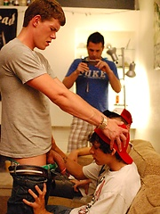 Massive dicked fratboy Jackson inflicting a serious ass pounding on Jacob's little ass, Added: 2012-07-24 by Fraternity X