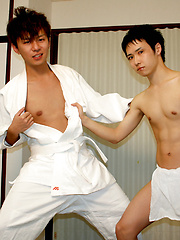 Player Fucks Judo Coach, Added: 2013-08-28 by Japan Boyz