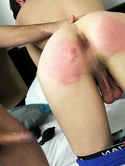 Spanked And Fucked Flip-Flop Fuck Gives This Brit-Boy A Red Raw Butt!, Added: 2013-09-10 by Staxus