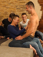 Wank Party 2016 #10, Part 1 - RAW, Added: 2016-11-29 by William Higgins
