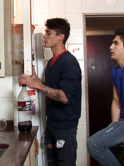 Cafe date leads to kitchen gay smut, Added: 2017-03-18 by Lohan 20